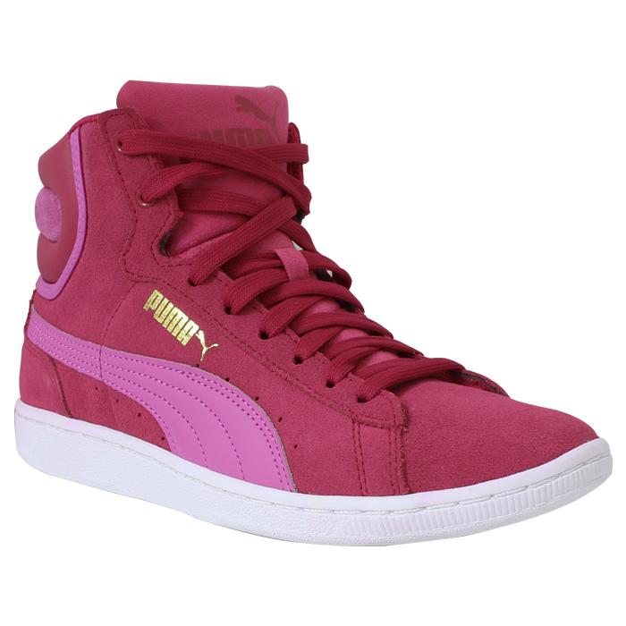 5627607b98e Bota Puma Vikky Rosa-Vermelho-Pink